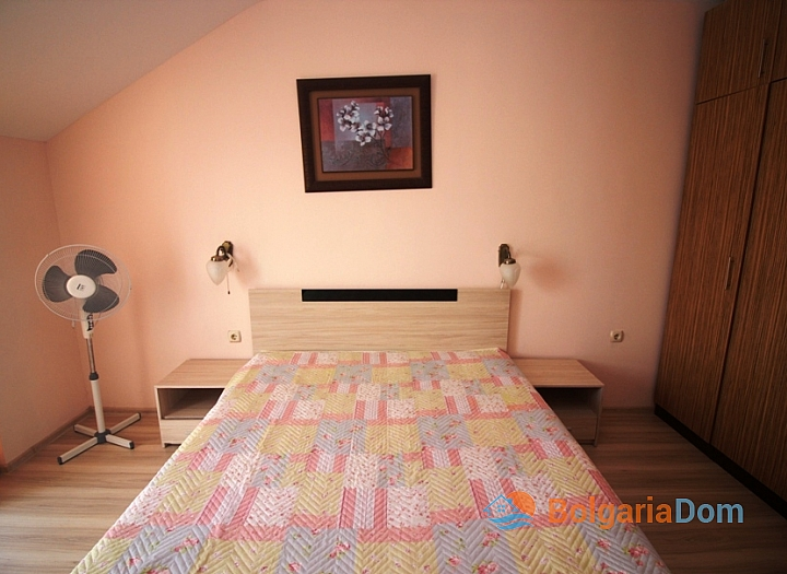 Двухкомнатная квартира в комплексе Пасифик 2 на курорте Солнечный берег. Фото 5