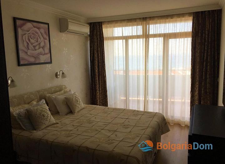 Двухкомнатный апартамент с видом на море в Святом Власе. Фото 9
