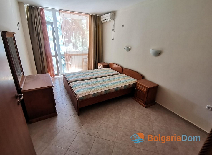 Двухкомнатная квартира в 50 м от пляжа в Солнечном Береге. Фото 9
