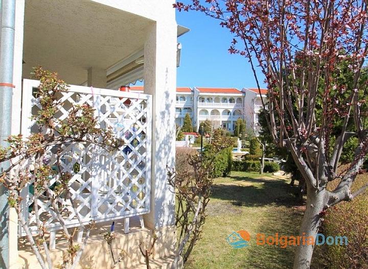 Апартамент с лужайкой в комплексе Лазурь, Святой Влас. Фото 13