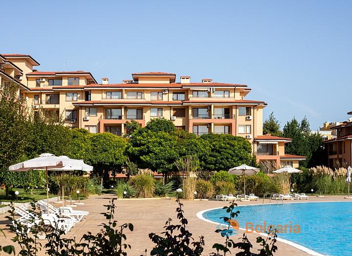 Двухкомнатная квартира с видом на море в большом семейном комплексе. Фото 21