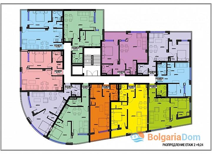 Отличные новые квартиры в центре бальнеологического курорта для ПМЖ. Фото 13