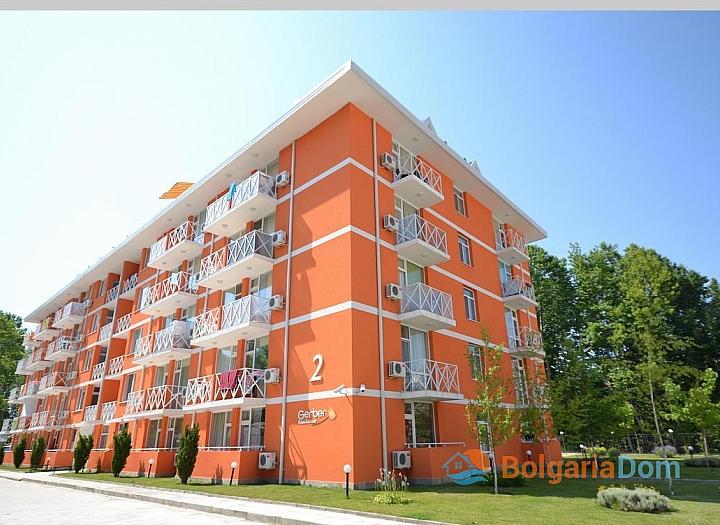 Дешевые квартиры на продажу в Болгарии. Цены от застройщика. Комплекс Гербер Резиденс 2. Фото 1