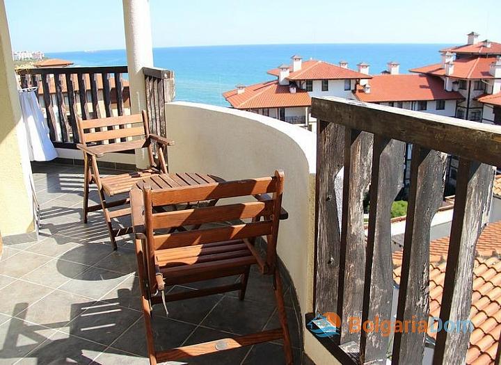 Трехкомнатная квартира с панорамным видом на море!. Фото 11