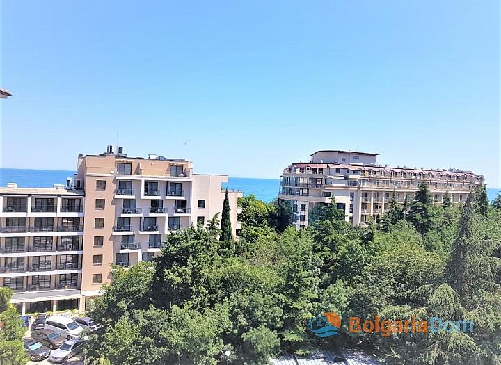Трехкомнатная квартира с видом на море в элитном комплексе . Фото 5