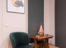Двухкомнатная квартира в комплексе с видом на море. Фото 9