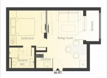 Двухкомнатная квартира в комплексе класса Люкс. Фото 16