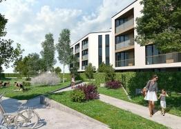 Трехкомнатная квартира с двориком и паркоместами в Сарафово. Фото 1