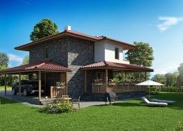 Новые дома в ближайшем пригороде Бургаса - Банево. Фото 2
