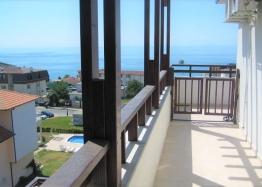 Большая студия с панорамным видом на море в 100 метрах от пляжа. Фото 1