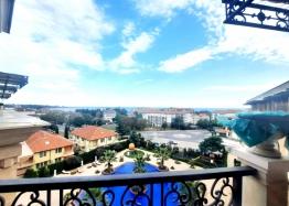 Трехкомнатная квартира с панорамой моря в красивом комплексе. Фото 2