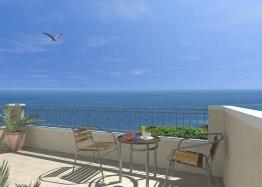 Двухкомнатная меблированная квартира в Бяле с видом на море. Фото 14
