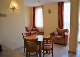 Двухкомнатная квартира в элитном комплексе на Солнечном берегу в Болгарии. Фото 3