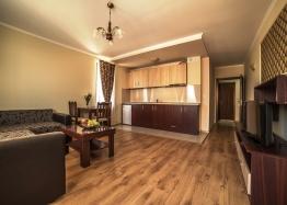 Квартира с мебелью в доме с отоплением. Фото 1