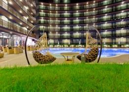 Апартаменты с 2 спальнями на первой линии в элитном комплексе Галеон. Фото 27