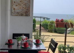 Шикарная квартира с фронтальным видом на море на первой линии. Фото 14