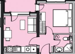 Двухкомнатная квартира в роскошном комплексе Валенсия Гарденс, первая линия. Фото 11