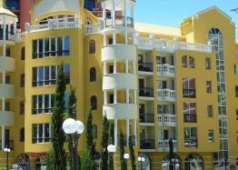 Двухкомнатная квартира в элитном комплексе на Солнечном берегу в Болгарии. Фото 15