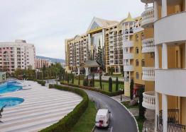 Двухкомнатная квартира в элитном комплексе на Солнечном берегу в Болгарии. Фото 14