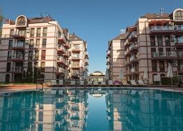 Двухкомнатная меблированная квартира с джакузи на Солнечном берегу. Фото 19