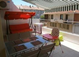 Трёхкомнатная квартира в Поморие с большой террасой. Фото 13